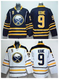 Wholesale Away Fashion - Buffalo Sabres 9 Evander Kane Hockey Jerseys Ice Sports Home Blue Road Away White Fashion All Stitched Top Quality On Sale