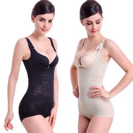 Wholesale Animal Underwear - Wholesale-Women Luxury Push Up Body Shaper Bodysuits Corset Slimming Suit Shapewear Shapers Underwear Lady Clothes