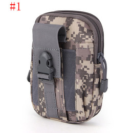 Wholesale Travel Belt Box - New Molle Military Tactical Waist Bag Unisex Casual Tactical Belt Loops Waist Bag Outdoor Travel Sport Waist Pack 4 Colors Available