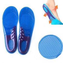 Wholesale Silicon Massage - One Pair Foot Care Tool Comfort Arch Support Massaging Gel Silicon Insole Woman 6-10