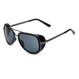 Wholesale Iron Man Sports Sunglasses - 2016 new Matsuda IRON MAN 3 TONY STARK Sunglasses steampunk Men Mirrored steam punk Glasses Sun glasses oculos de sol masculino