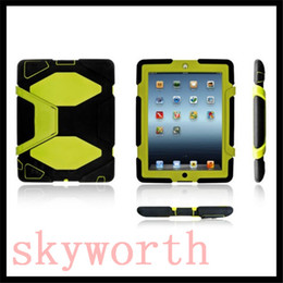 Wholesale E Mini Case - For SAMSUNG Galaxy tab A T280 E 4 Ipad mini 3 4 5 6 air 2 Military Extreme Heavy Duty Shockproof CASE Kickstand