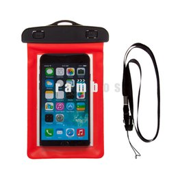 Wholesale Surf Bags - 5 inch Waterproof Smart Phone case Swimming Diving Surfing Case Bag for iphone 5S 6s  SE