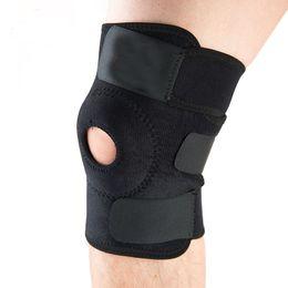 Cinturino per ginocchio pallacanestro online-Ginocchia elastiche per ginocchiere regolabili per ginocchiere con ginocchiera per ginocchiere