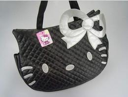 grande olá gatinho Desconto Big HelloKitty Bolsa Bolsa de Ombro Tote Bolsa Bonito Olá Kitty cat cabeça tipo de moda bolsas HJIA492