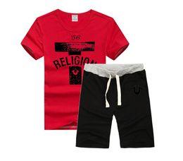 Wholesale Club O - FREE Shipping BILLIONAIRE BOYS CLUB T-Shirt BBC T Shirts Men Hip Hop Cotton set O Neck Man t Shirt+pants Euro Size