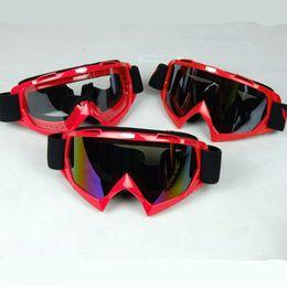 Wholesale Ski Helmet Glasses - Motorcycle Helmets Bike ATV Motocross Ski Snowboard Off-road Helmet Goggles FITS OVER RX GLASSES Eye Lens