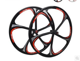 Wholesale Road Bike Group Sets - 302 Bicycle rim 26-inch  Peilin bearing one wheel group   magnesium alloy wheel disc brake set   Cassette Hub