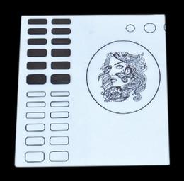 Matt klar online-Gute Qualität klarer Silikon, der Nagel-Kunst-Platten-Farbe Pat Washable Mat Table Transfer Toools stempelt