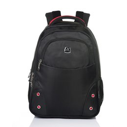Wholesale Cheap 13 Inch Laptops - Men Woman Students Business Backpack Laptop Zipper Bag Leisure trave outdoor bag cheap price high quality Red black grey blue colors