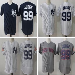 Wholesale Yankees Jersey Black - Men's New York Yankees jersey 99 Aaron Judge 2 Derek Jeter Stitched Authentic Baseball Jersey Flexbase Cool Base jerseys