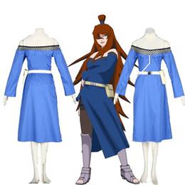 Wholesale Female Cartoon Costumes - Cartoon Anime Character Cosplay NARUTO Terumi Mei 5th Mizukage Cosplay Costume Halloween Female High Quality Handmade