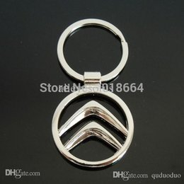 Wholesale Citroen Key Ring - Wholesale-ONE PC Hot Sale Citroen Keychain Llaveros Chaveiro Key Chain Keychain Keyring Key Ring Key Holder Promotion Gift A110