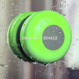 Wholesale Passive Speakers - Bluetooth Speaker Shower Portable Waterproof Wireless Car Handsfree Receive Call & Music Suction Phone Mic speaker hoodie