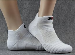 Wholesale Organic Towels Wholesale - Elite basketball men's pure cotton socks add heavy towel base professional outdoor running hair collar sports hosiery