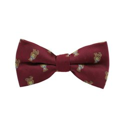 Wholesale Womens Silk Clothes - Wholesale-men bow tie butterfly womens bow ties for wedding silk bowtie clothing accessories free shipping Wholesale