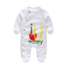 Wholesale Girls Pajamas Size - Baby Pajamas girls Baby clothes Newborn clothes Long Sleeve Underwear Cotton Pajamas Baby Boys Girls Autumn clothing
