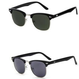 Wholesale Drop Shipping Sunglasses - Hot Selling Men's Women's Fashion Sunglasses Unisex black Sun glasses Men Women Sunglasses 11 Colors drop shipping