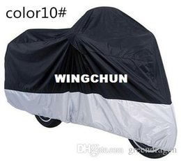 Wholesale Dust Cover Bike - Motorcycle Bike Moped Scooter Cover Dustproof Waterproof Rain UV resistant Dust Prevention Covering 6 Kinds Of Colors