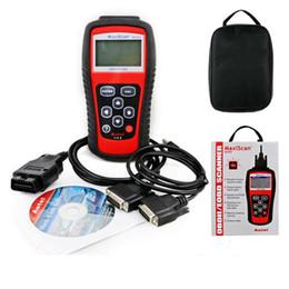 Wholesale Toyota Diagnostic Equipment - Auto Diagnostic Tool Car Code Reader Autel MS509 OBDII EOBD Maxiscan MS509 Automotive Diagnostic Equipment Scanner Systems