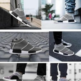 Wholesale Socks Designs Shoes - Wholesale 2016 New Design 100% Top Quality NMD City Sock Men And Women Shoes,NMD CS1 Sock PK Casual Sports Shoes Fashion Footwear free ship