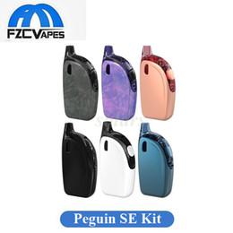 Wholesale E Cigarette Tops - 100% Original Joyetech Atopack Penguin SE Starter Kit Top Selling 2ml 8.8ml 2000mAh E Cigarette Vape Kit Max 50W 6 Colors