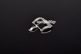 Wholesale Strap For Panerai - 22mm wholesale new watch band strap Pre V screw buckle Silver High quality Stainless Steel hot sell free shipping
