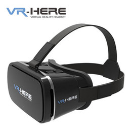 Wholesale 3d Glasses Sexy - New Arrival Google Glasses Cardboard VR BOX Version VR Virtual High-Quality Rift 3d Games Sexy Movie For 3.5 - 6.0