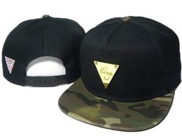 Wholesale Green Hater - HATER Snapback Cap Baseball Hat Adjustable HIPHOP caps Hot Sparkling Hiphop Cap for man and women gold mark bone