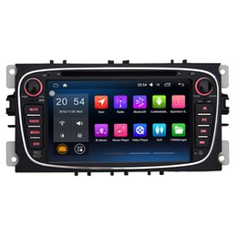 Wholesale Gps Mondeo Android - 7'' Quad Core Android 6.0.1 Car DVD Player For Galaxy 2010-2011 Focus 2007-2010 Mondeo 2007-2011 S-max 2008-2012 With Stereo Radio GPS