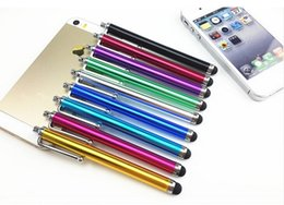 Wholesale Cheap Ipad Wholesale - Universal Stylus Pen Capacitive Touch Screen For Phone Tablet iPod iPad iPhone 5 5S 6 6plus factory wholesale cheap price