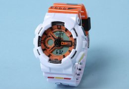 Wholesale Reloj Sport Led - New style sports watch ga110 Men wristwatch Analog Digital Watch relogio masculino reloj LED Watches