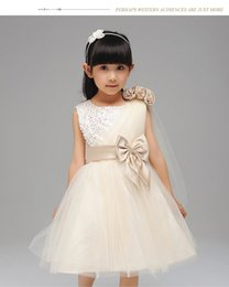 Wholesale Short Lenght Wedding Dresses - Girls Wedding Dress Ankle Lenght Camo Flower Girls Dresses For Wedding Stain Crew A Line Cute Pageants Gowns For Girls 2016 Tutu Skirt