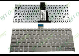 Wholesale Keyboards S3 - New Notebook Laptop keyboard FOR Acer Aspire Ultrabook S3S3-391 S3-951 S3-371 S5 S5-391 725 756 TravelMate B1 B113 B113-E B113-M grey US Ver