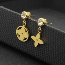 Wholesale Flower Duck - 2017 Foreign trade jewelry wholesale single drill mandarin duck Earrings 18K rose gold earrings and flower type Earrings