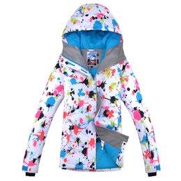 Wholesale Warm Waterproof Jacket Women - Women's Ski Jacket Gsou Snow 2016 New Snowboard Jacket for Women Female Waterproof Windproof Brethable Winter Coat super keep warm