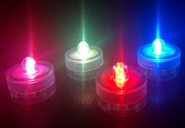Wholesale Led Multicolor Aquarium - Hot sell Indoor Lighting mini aquarium lamp buttons battery micro landscape lamp led waterproof multicolor small night light yzs168