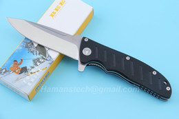 Wholesale Bees Tools - outdoor knives Enlan BEE EL01A Pocket EDC Folding Knife G10 Handle Camping Survival Tools