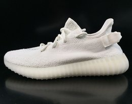 Wholesale Nude Black Women Art Canvas - Boost 350 V2 'Cream White' SPLY-350 High Quality Cheap Discount Wholesale Kanye West 350 Boost Men's Trainers Sports Shoes without Box