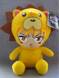 "Wholesale Kon Bleach Toy - Anime Cartoon Bleach Kon Plush Toy Soft Stuffed Doll Gifts 12""30CM 1206#06"