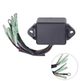 Wholesale Yamaha Stroke Outboard - CDI Ignition Control Module COIL Electronic Power Pack For Yamaha 8HP 9.9HP 15HP 20HP 25HP Outboard 2 Stroke Engines Motor