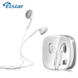 Wholesale Ep Earphones - Wholesale-Original MEIZU EP-21 Stereo Earphone With Microphone For Smartphone