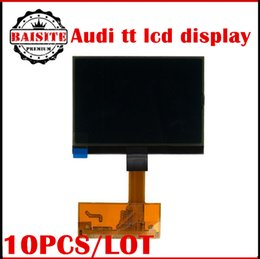Wholesale Car Sales Audi - 10pcs Lot Factory price!!!good feedback audi tt lcd display screen A3 A4 A6 Jaeger for TT Jaeger dashboards lcd display car hot sales