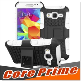 Wholesale Armor Series Iphone - For Samsung Galaxy Core Prime Cases G3608 Armor Case Compatible With Samsung Series Hard Shell 2 in 1 Tough Protective S7 S7 edge Cover Skin