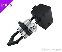 Wholesale Surge Tanks - universal fit Fuel Pump Surge Tank 3L RAW ALU SURGE TANK Y Block Bracket FUEL PUMP DUAL EFI With 2PC 044 FUEL PUMP in stock ready to ship