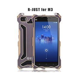 Wholesale Green Orange M3 - Drop protection Metal M3 Cases Cool Sport Portable Aluminum CNC Bumper UNBreak Frame Case For xiaomi 3 mi3 xiaomi3 xiaomi mi 3 Accessories