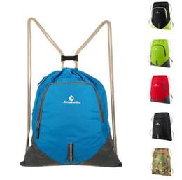 Wholesale Bagpack Outdoors - Travel Foldable Lightweight Backpack Women Men Waterproof Drawstring Bag 12L School Bags Bagpack Ultralight Outdoor Bag