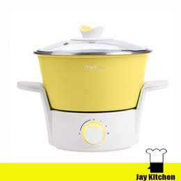 Wholesale Mini Electric Cooking Pot - Multi-function Electric Multi Cooker Student Electric Pot With Thermostat Control Electric Hot Pot Mini Cooking Pot