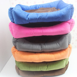 Wholesale Wholesale Kennel Beds - 42Cm*30Cm*10CM Dog Bed Super Comfy Dog Kennel Mat Pad Style Sleep Dog House High Quality Pet Supplies