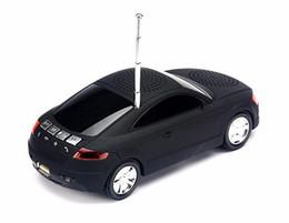 Wholesale Car Shape Bluetooth Speaker - 2016 Super Cool Bluetooth speaker Top Quality Car Shape Wireless bluetooth Speaker Portable Loudspeakers Sound Box for iPhone IPAD Computer
